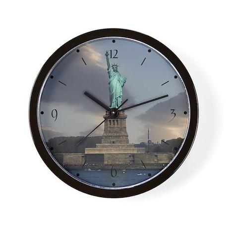 Liberty Clouds Wall Clock