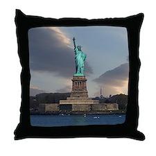 Liberty Clouds Throw Pillow