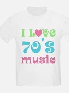 I Love 70's Music T-Shirt
