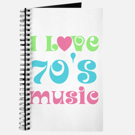 I Love 70's Music Journal