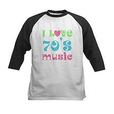 I Love 70's Music Tee