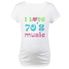 I Love 70's Music Shirt