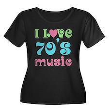 I Love 70's Music T