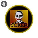 "Obama Joker 3.5"" Button (10 pack)"