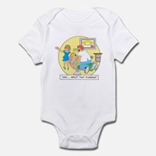 Now ... about that flossing. Infant Bodysuit