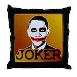 Obama Joker Throw Pillow