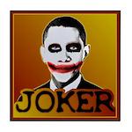 Obama Joker Tile Coaster