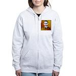 Obama Joker Women's Zip Hoodie