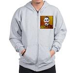 Obama Joker Zip Hoodie