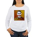 Obama Joker Women's Long Sleeve T-Shirt