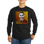 Obama Joker Long Sleeve Dark T-Shirt