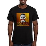Obama Joker Men's Fitted T-Shirt (dark)