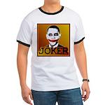 Obama Joker Ringer T