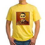 Obama Joker Yellow T-Shirt