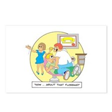 Now ... about that flossing. Postcards (Package of