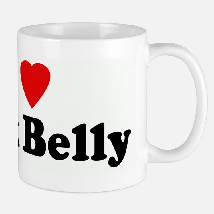 I Love Pork Belly Mug