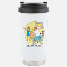 Now ... about that flossing. Travel Mug