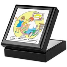 Now ... about that flossing. Keepsake Box