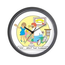Now ... about that flossing. Wall Clock