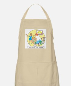 Now ... about that flossing. BBQ Apron