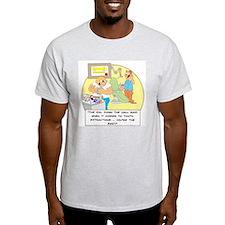 The girl down the hall said . T-Shirt