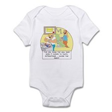 The girl down the hall said . Infant Bodysuit