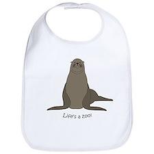 Sea/Sea lion Bib