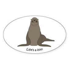Sea/Sea lion Oval Decal
