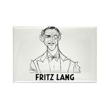Fritz Lang Rectangle Magnet