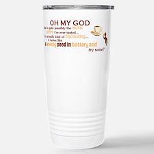 """Worst Coffee"" Stainless Steel Travel Mug"