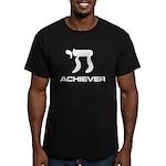 Chai Achiever Men's Fitted T-Shirt (dark)