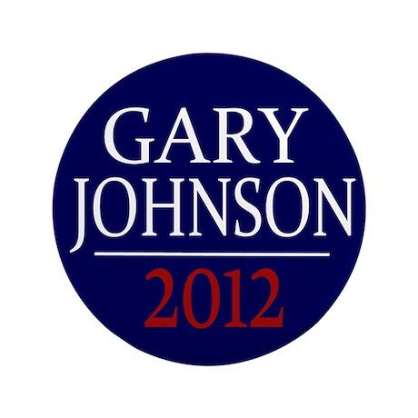 "Gary Johnson 2012 3.5"" Large Button (100 pk)"