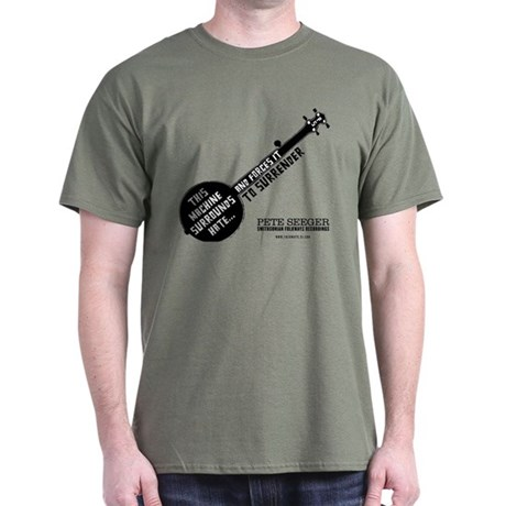 Pete Seeger Dark T-Shirt