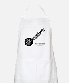 Pete Seeger BBQ Apron