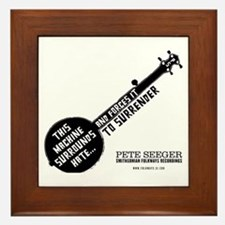 Pete Seeger Framed Tile