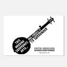 Pete Seeger Postcards (Package of 8)