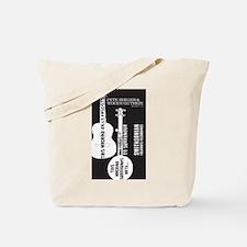 Cute World music Tote Bag