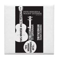 Cute World music Tile Coaster