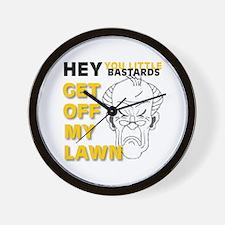 Funny Stuff for Seniors Wall Clock