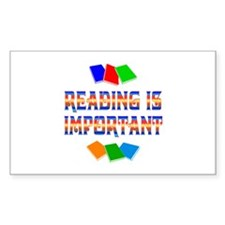 Reading Rectangle Decal