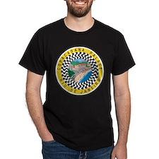 Rio de Janeiro Brazil (Front) Black T-Shirt