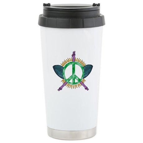 Peace Corps Global Fund Stainless Steel Travel Mug