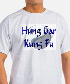 Hung Gar Kung Fu Ash Grey T-Shirt