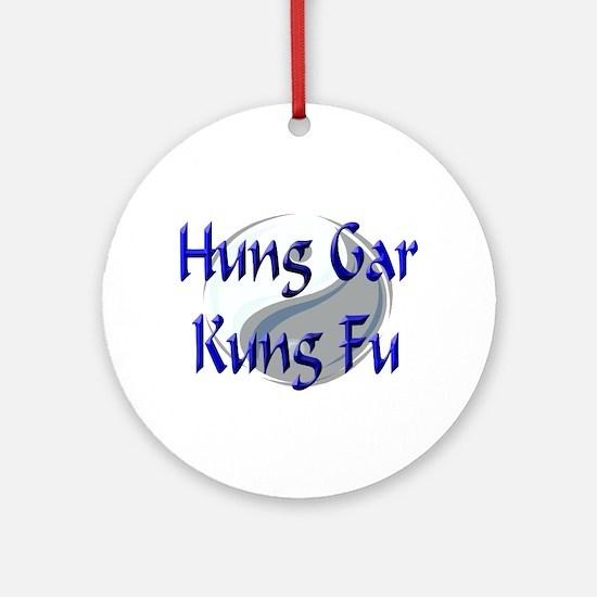 Hung Gar Kung Fu Ornament (Round)