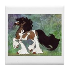 Cute Ponies Tile Coaster