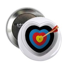 "Archery Love 2 2.25"" Button (10 pack)"