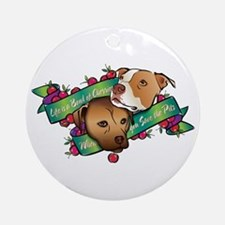 Life is a Bowl of Cherries... Ornament (Round)