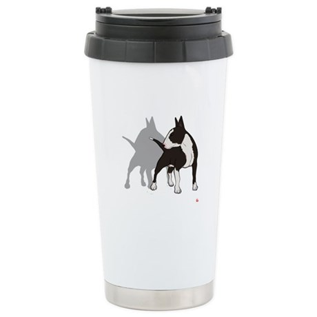 10 ENGLISH BULL-TERRIER Stainless Steel Travel Mug