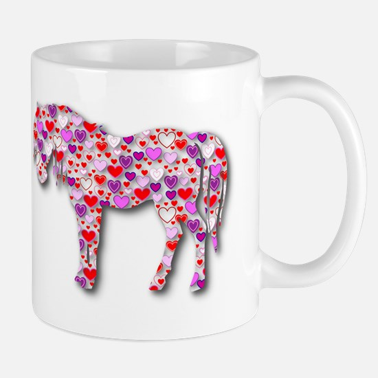 The Original Heart Horse Mug