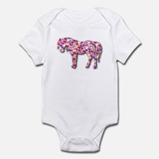 The Original Heart Horse Infant Bodysuit